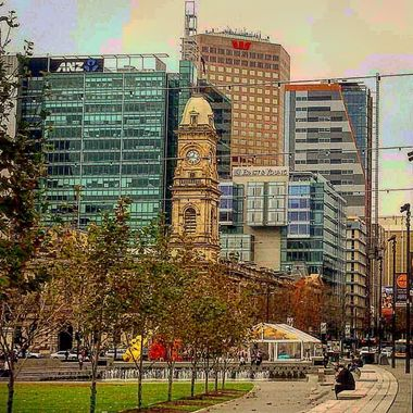 Taken in the heart of the Adelaide Central Business District, South Australia.