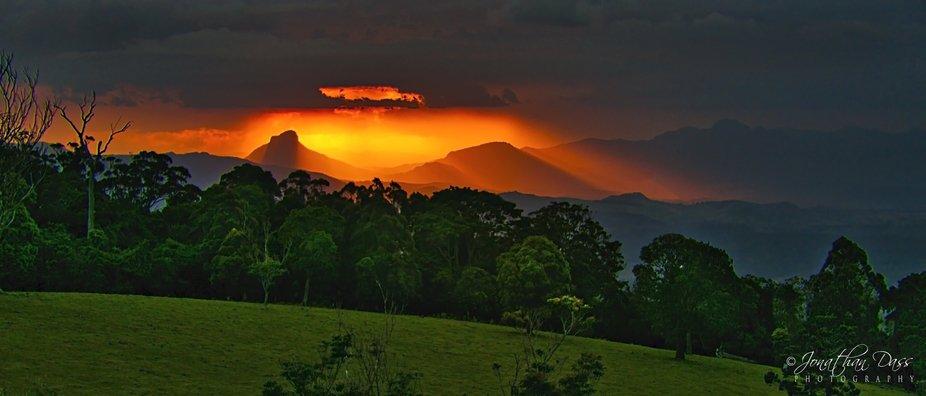 Great Dividing Range_Sunset1