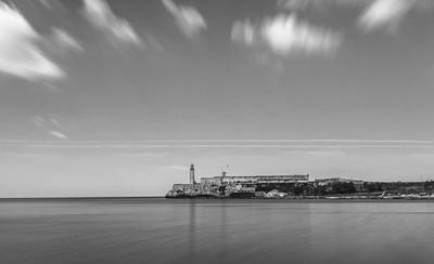 Faro de la bahía habanera.