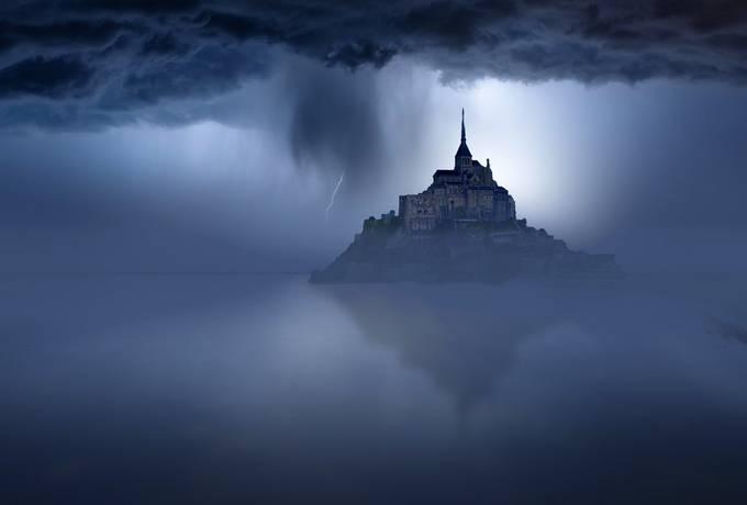 castelofra by vinicioguedes - Capture The Blue Hour Photo Contest
