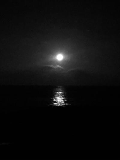 'Moon: mom's everywhere', taken in Candelaria, Tenerife.
