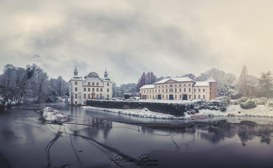 Schloss Borbeck, Essen, Germany    Panorama 6x3 shots, Canon 5d Mark IV