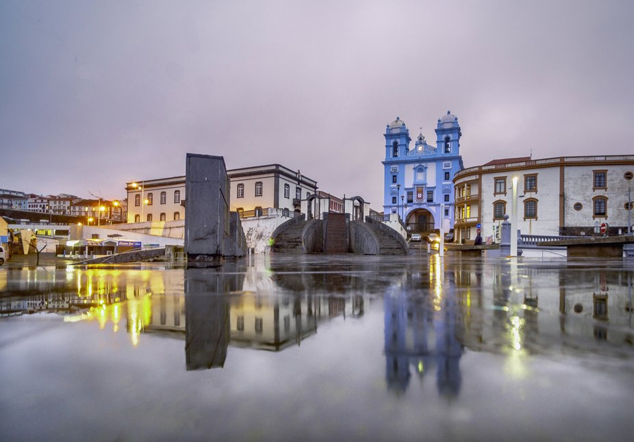 Angra do Heroísmo city, UNESCO heritage, Terceira island - Azores