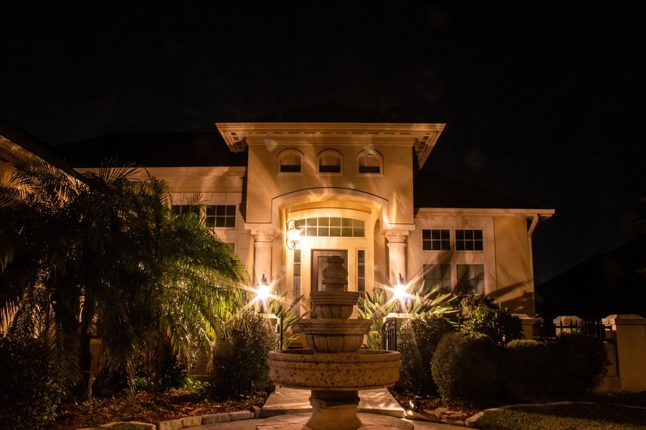 Night Pictures of House