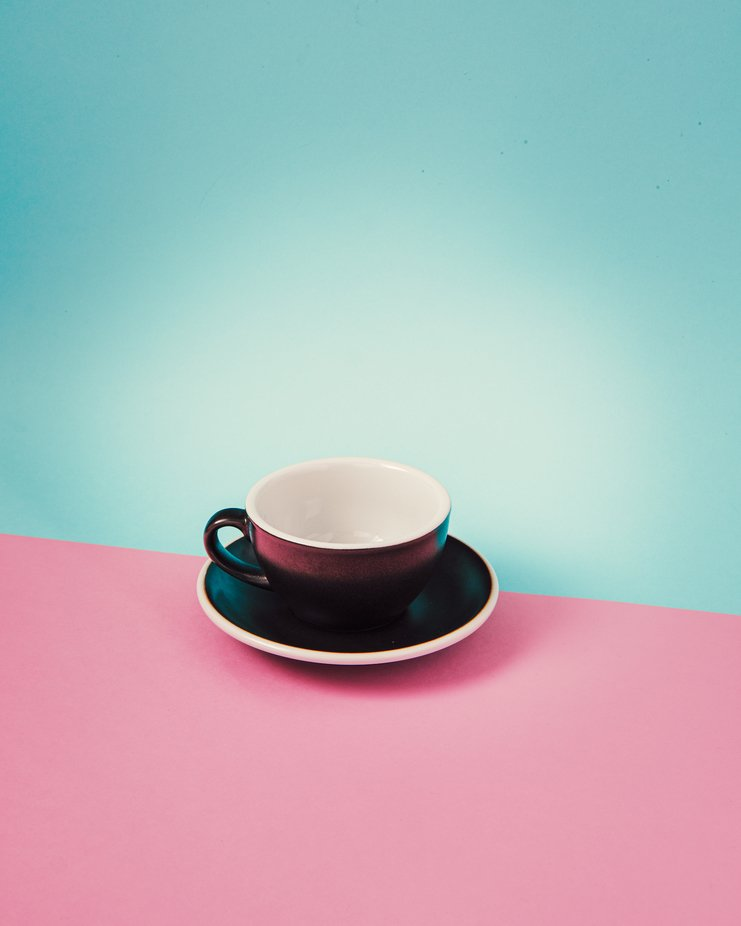 A simple & beautiful coffee mug