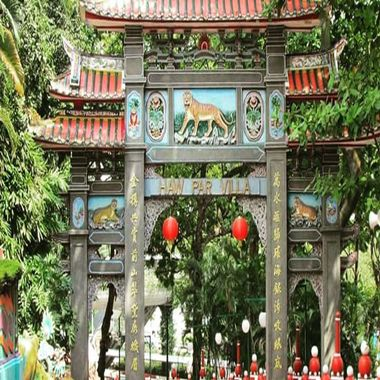 The Existing Tiger Balm Garden in Singapore