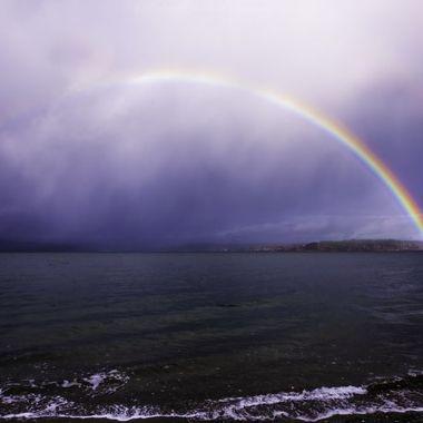 Rainbow of hope...
