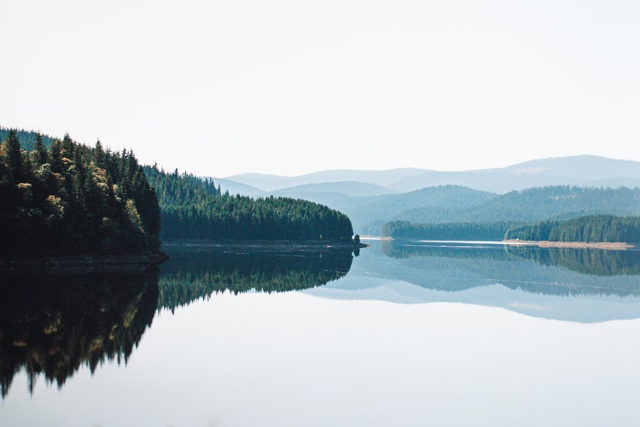 Lake Oasa, Romania