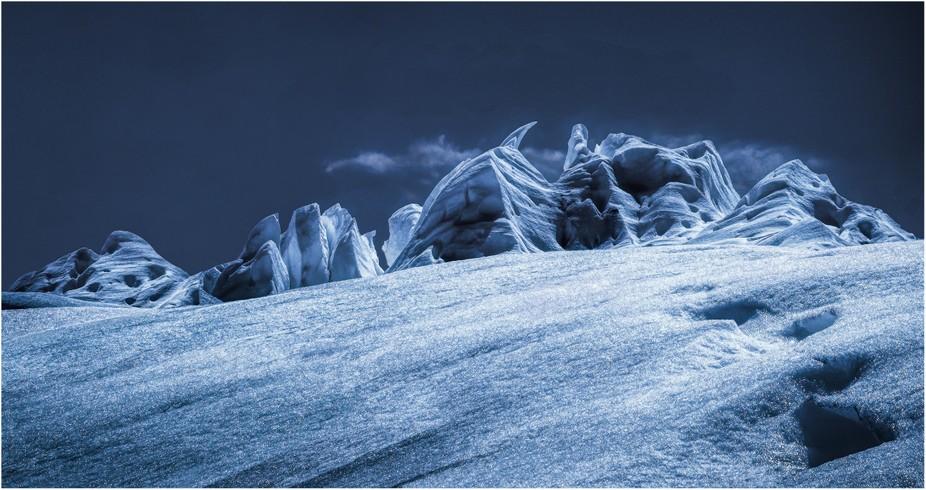 Perito Merino Glacier, Los Glaciares National Park, Argentina