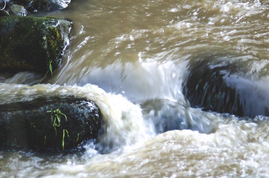La piccola cascata per portare via i brutti pensieri e malinconia