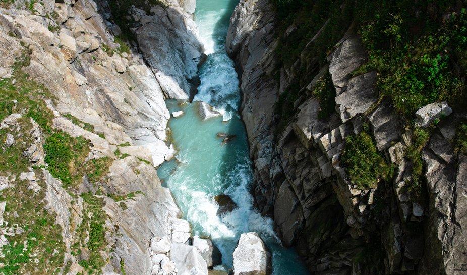 River in the rocks