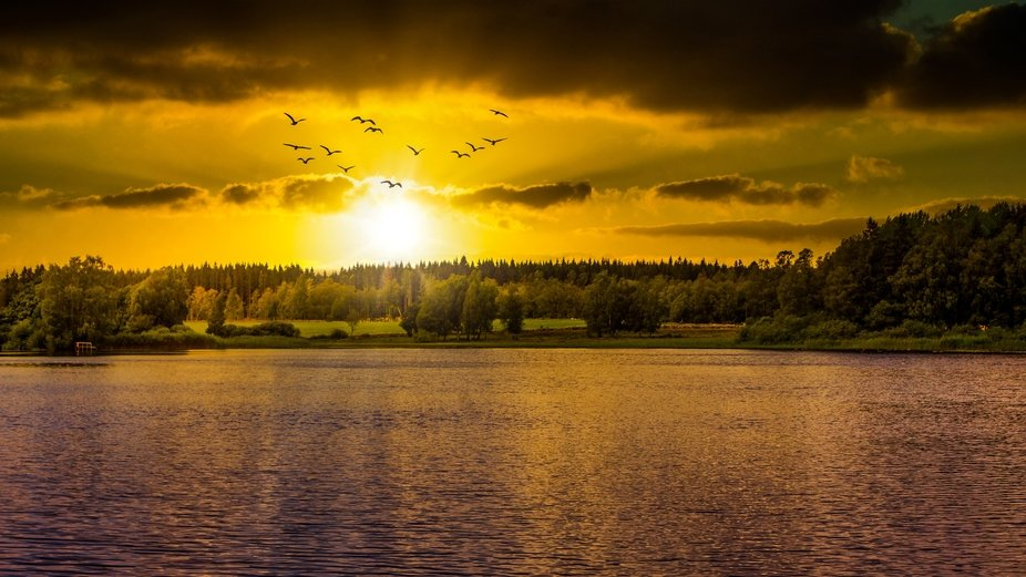 Those sunsets