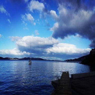 Taken on the quiet shore around Hobart,  Tasmania