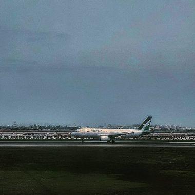 Takeoff with Silk Air @ Changi Airport, Singapore
