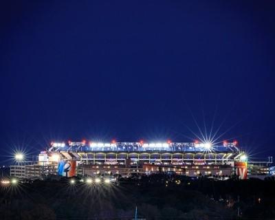 Raymond James Stadium shining bright on a grand stage.