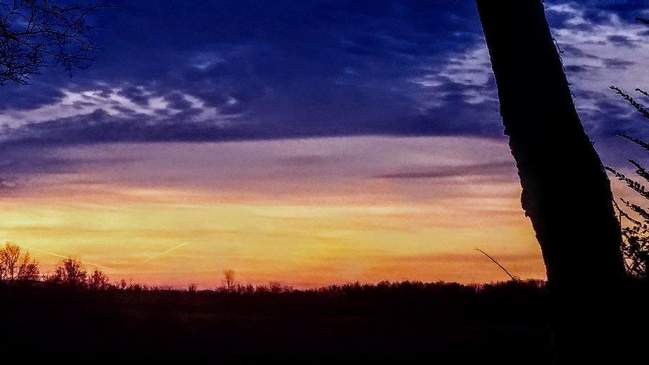 Sunrise from my backyard!