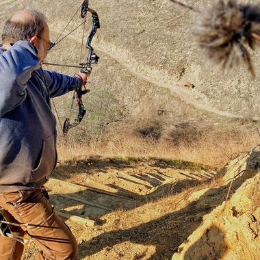 Target practice in the canyons!