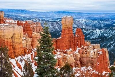 Morning Snow at Agua Canyon