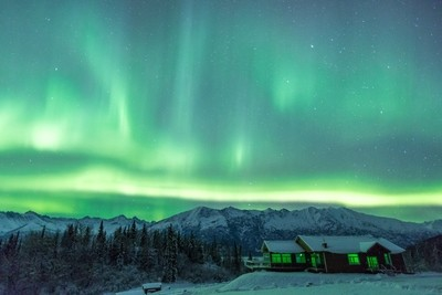 Aurora at Knik River Lodge