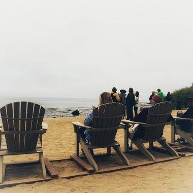 Seaside mist at Terranea in California!