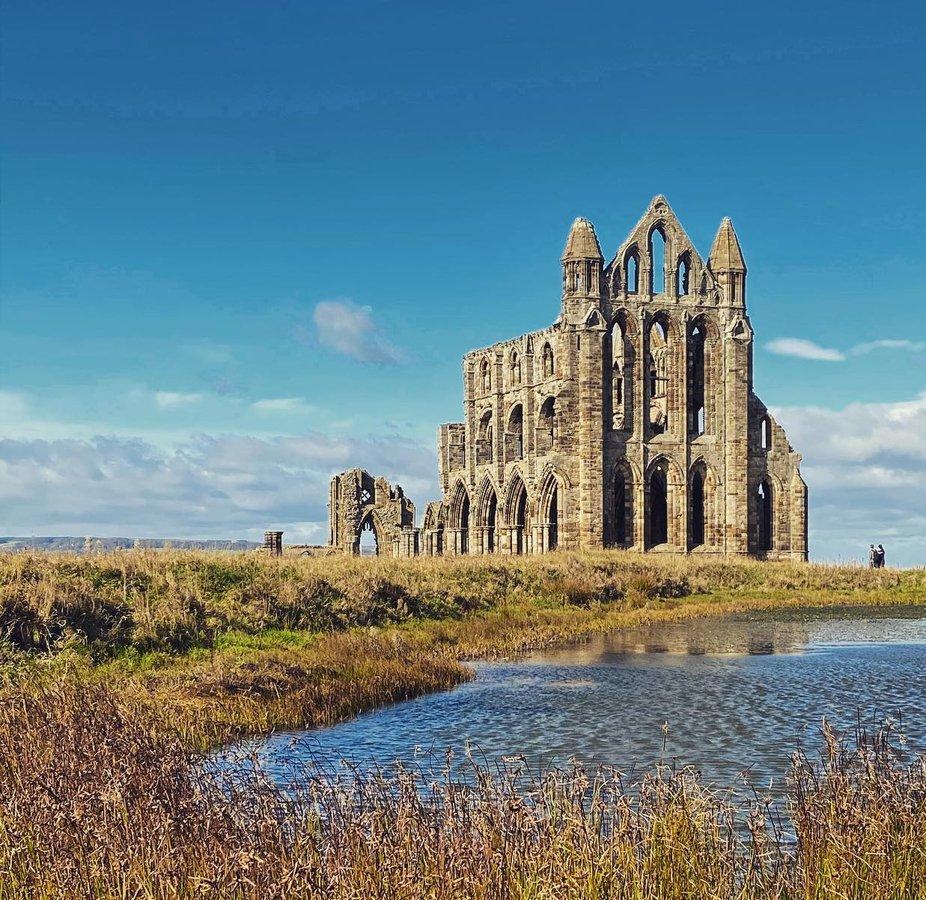 #whitbyabbey #ruins #yorkshire #medieval #history #england