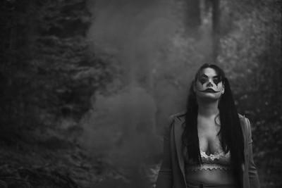 Joker Halloween shoot
