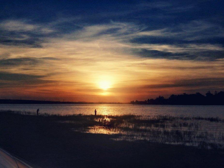 Sunset canvas colours