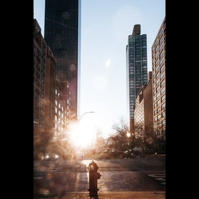 NYC Fire hydrant at dawn
