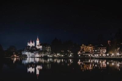 Cityscape of Thun