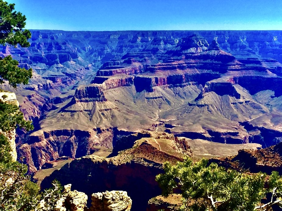 A beautiful photo taken at the Grand Canyon near Flagstaff Arizona.