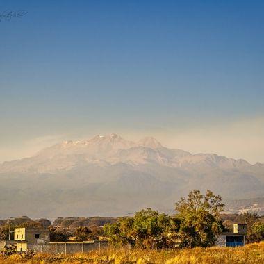 Iztaccihuatl volcano Mexico