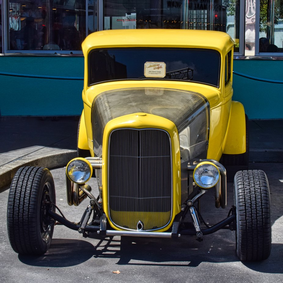 1932 Deuce Coupe Hotrod, used in the film American Graffiti.