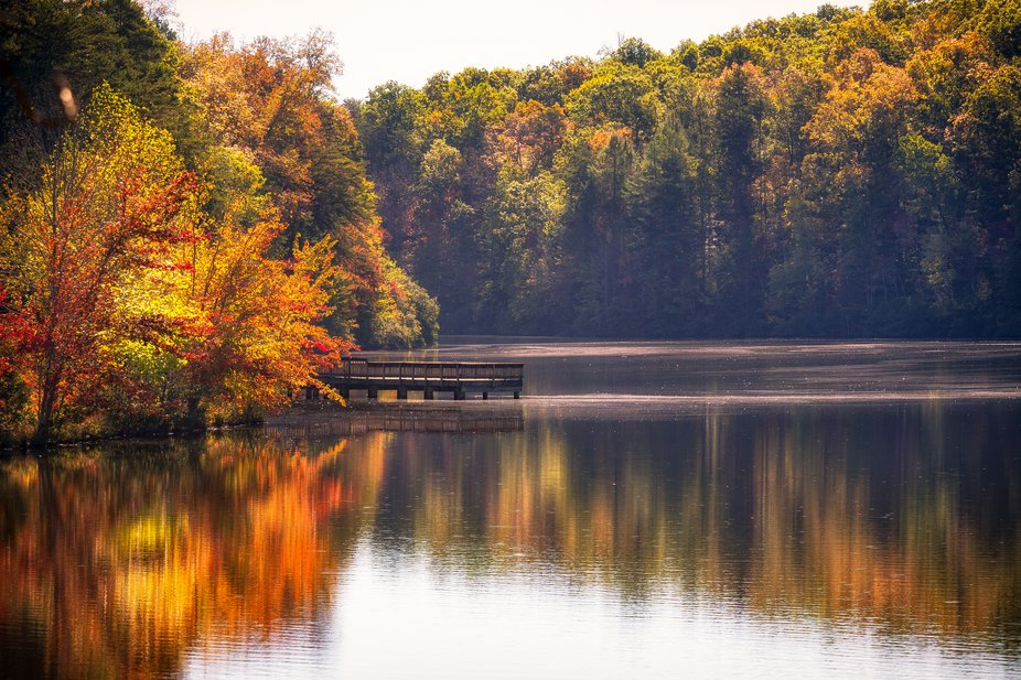 Fall Colors, Table Rock State Park, SC