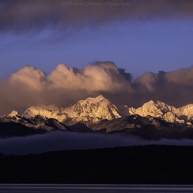 The Olympic Mountains, Mt. Constance