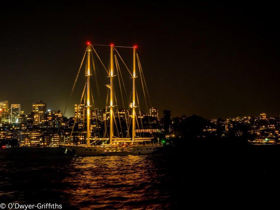 Tall ship ....tasmania au