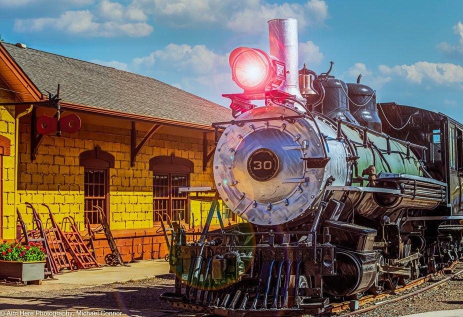 Taken at The Colorado Railroad Museum.