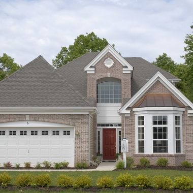 Modern home front elevation