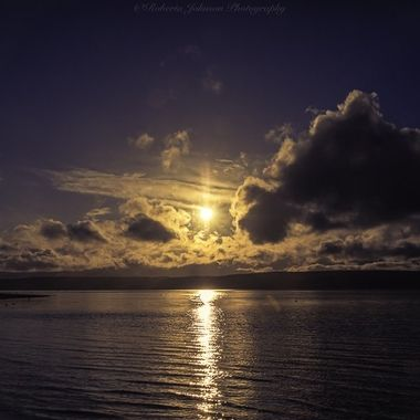 After all the rain today it was delightful to see the sun come out this evening. It was a delightful ending to the day. The Olympic Mountains, Hood Canal, Washington, USA