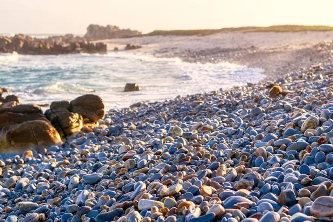 Pebble shore