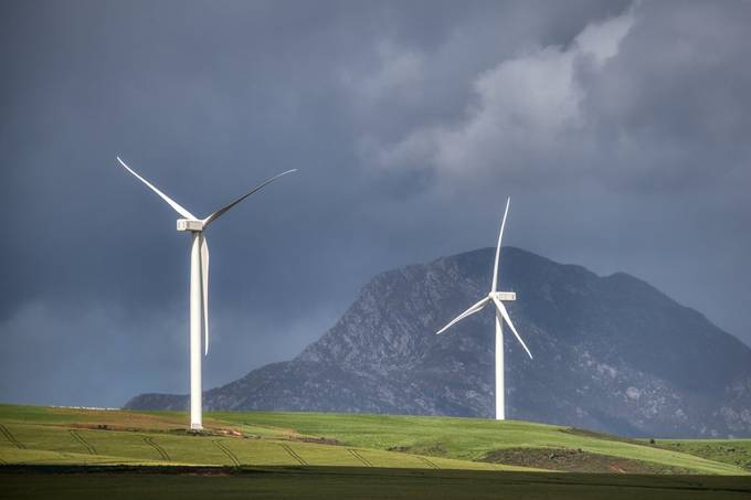 Caledon wind turbines