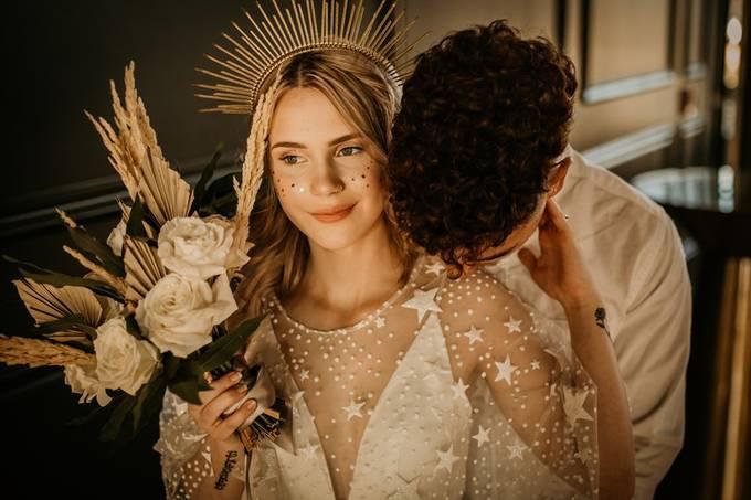 Celestial Love by porschethomas - A Bride Story Photo Contest