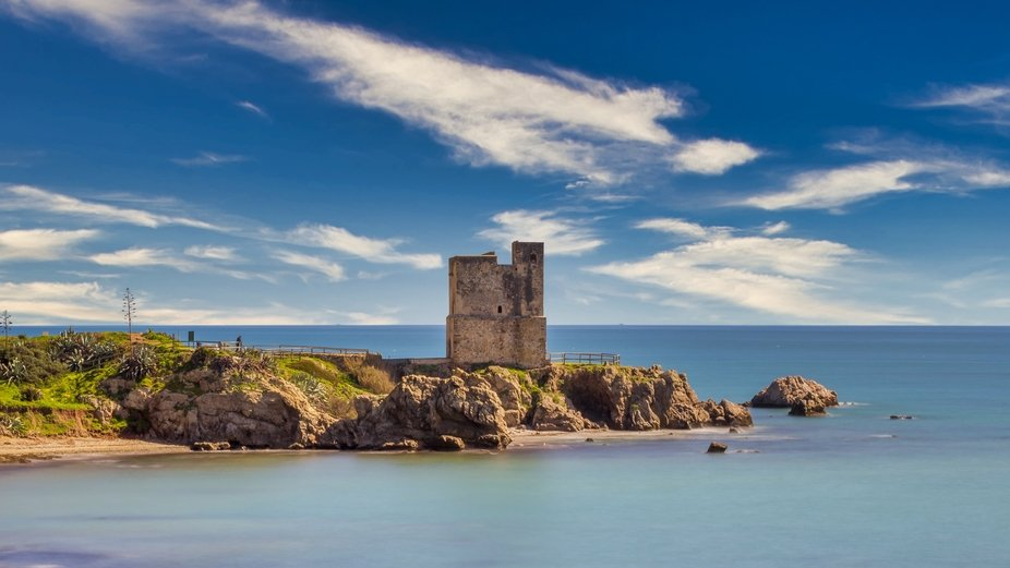 Salt tower of Casares