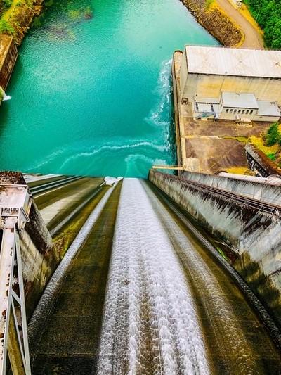 Detroit Dam Spillway