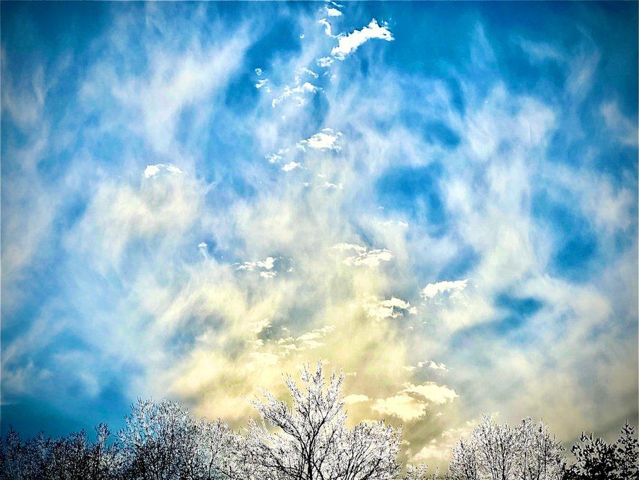Angels in the skies