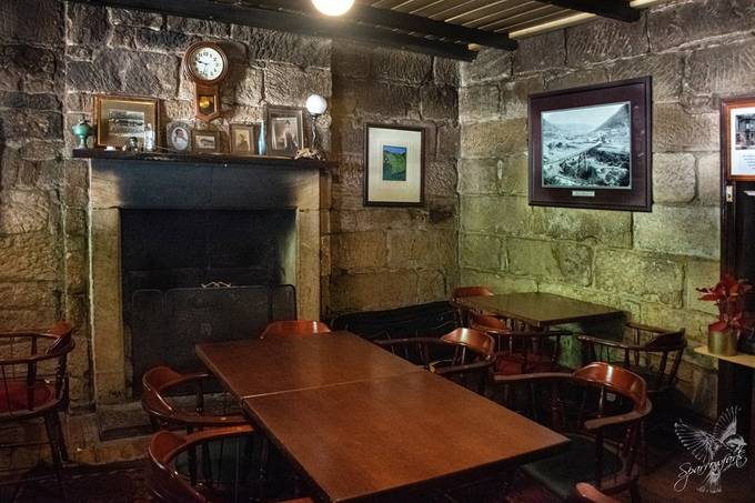 DIning Room of the Settlers Arms Inn -1836