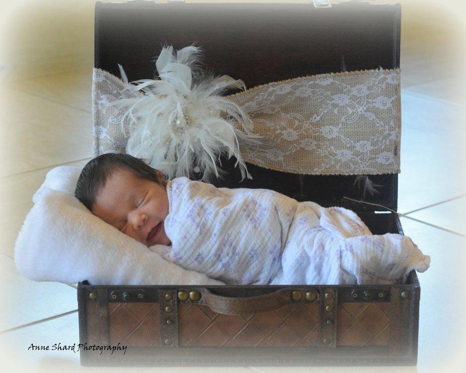 Newborn photo session today