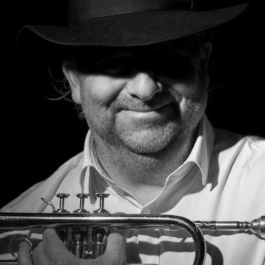 Portrait session with trumpeter Ronald Arkesteijn.
