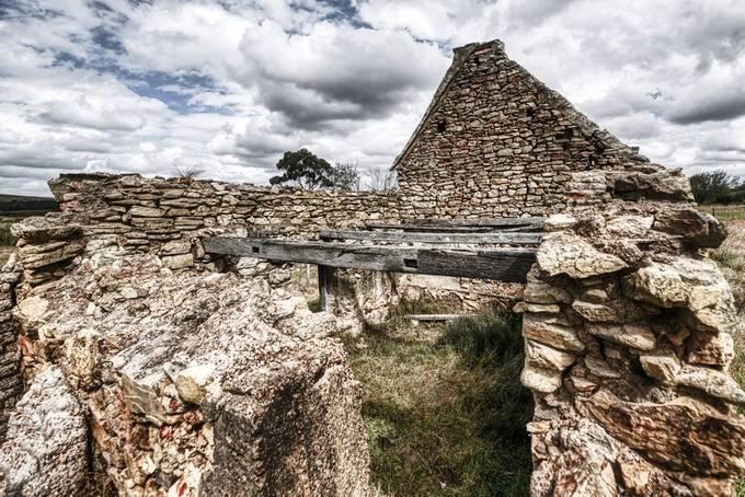 Ruins at Elim