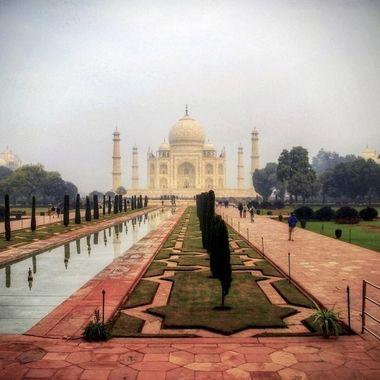 TAJ Mahal at early morning!