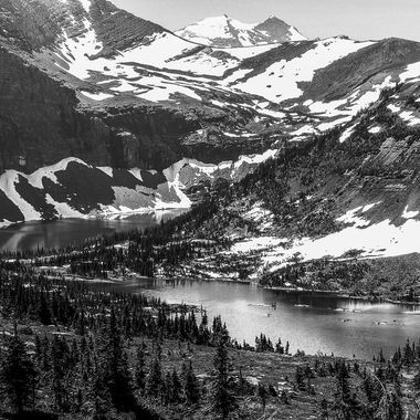 Hidden Lake in Glacier National Park